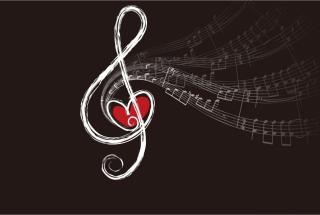 Musical Notes - Fondos de pantalla gratis para Nokia Asha 201