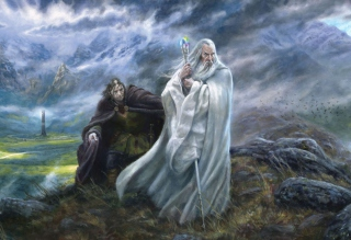 Free Lord of the Rings Art Picture for Android, iPhone and iPad