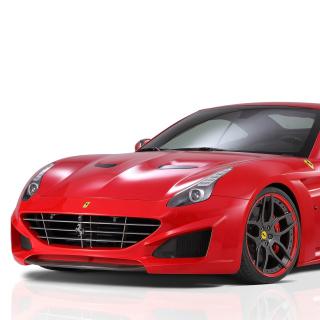 Novitec Rosso Ferrari California - Obrázkek zdarma pro iPad mini