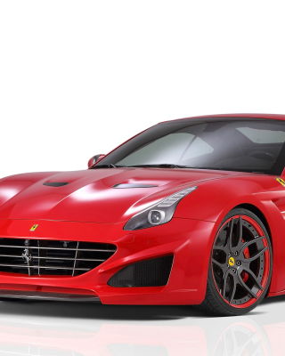 Novitec Rosso Ferrari California - Obrázkek zdarma pro Nokia Asha 303