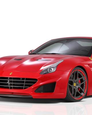 Novitec Rosso Ferrari California - Obrázkek zdarma pro 240x400
