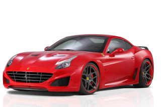 Novitec Rosso Ferrari California - Obrázkek zdarma pro Android 640x480