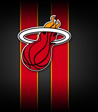 Miami Heat - Obrázkek zdarma pro 352x416