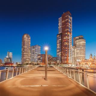 Rotterdam - Obrázkek zdarma pro 1024x1024