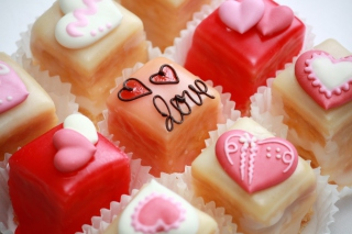 Love Cupcakes Wallpaper for Android, iPhone and iPad