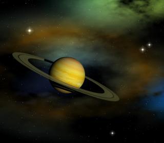 Saturn - Obrázkek zdarma pro iPad Air