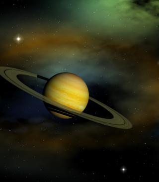 Saturn - Obrázkek zdarma pro Nokia C3-01 Gold Edition