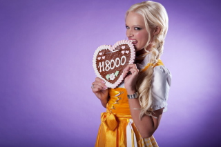 Free Daniela Katzenberger - German TV star Picture for Android, iPhone and iPad