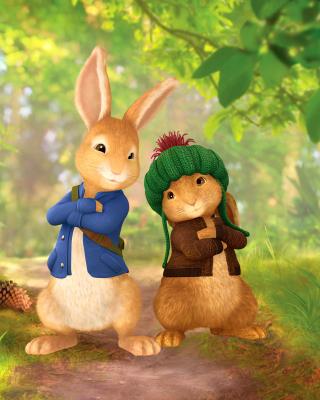 Peter Rabbit with Flopsy - Obrázkek zdarma pro 640x960
