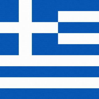 Greece Flag - Obrázkek zdarma pro iPad mini 2
