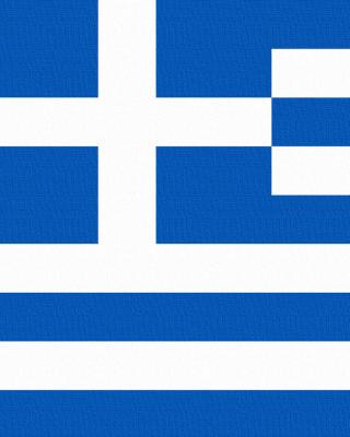 Greece Flag - Obrázkek zdarma pro 640x960