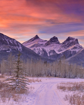 Mont Tremblant, Quebec - Obrázkek zdarma pro 360x480