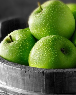 Green Apples - Obrázkek zdarma pro Nokia Lumia 505