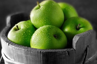 Green Apples - Obrázkek zdarma pro Samsung Galaxy Tab 4G LTE