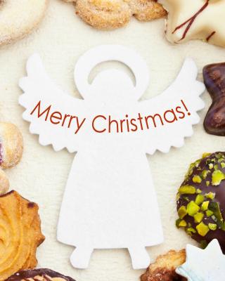 Merry Christmas Angel - Obrázkek zdarma pro Nokia X3