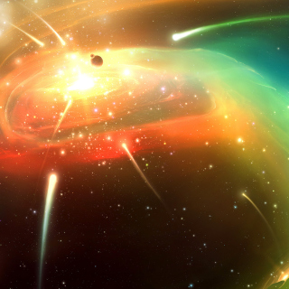 Planets & Comets - Obrázkek zdarma pro iPad mini