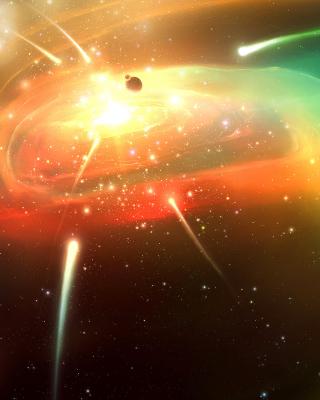Planets & Comets - Obrázkek zdarma pro Nokia Asha 502