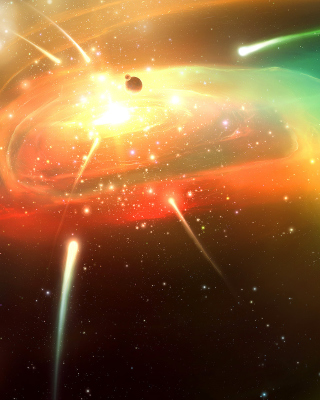 Planets & Comets - Obrázkek zdarma pro Nokia X2