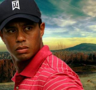 Tiger Woods - Obrázkek zdarma pro iPad Air