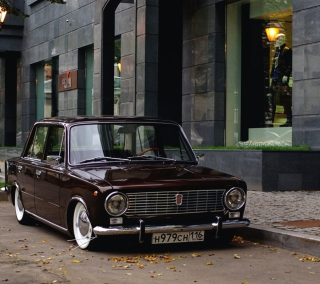Retro Car VAZ 2101 - Obrázkek zdarma pro 128x128
