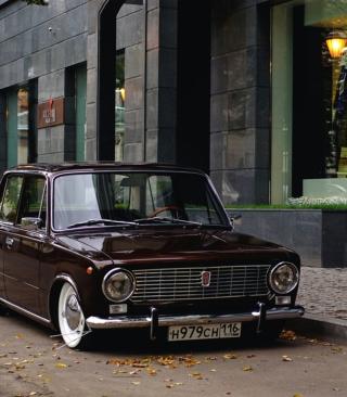 Retro Car VAZ 2101 - Obrázkek zdarma pro Nokia Asha 203