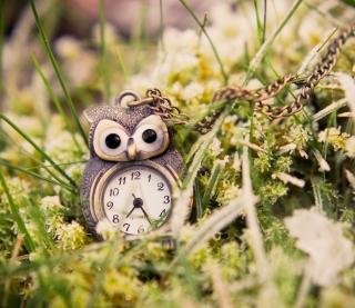 Owl Watch Pendant - Obrázkek zdarma pro 1024x1024