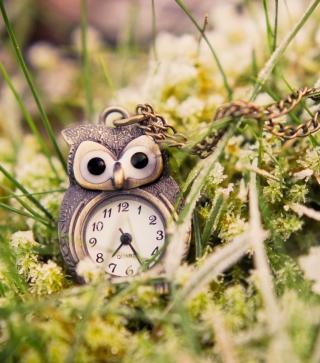 Owl Watch Pendant - Obrázkek zdarma pro Nokia Asha 303