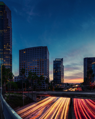Los Angeles Panorama - Obrázkek zdarma pro Nokia Lumia 505