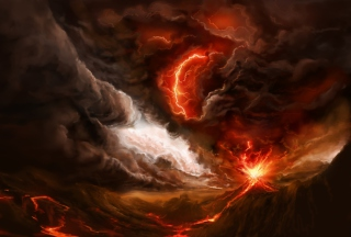 Lava And Volcano Wallpaper for Android, iPhone and iPad