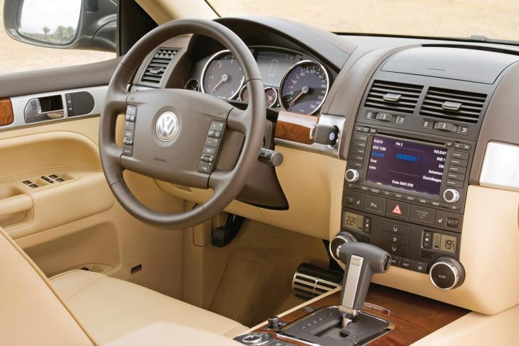 Volkswagen Touareg v10 TDI Interior wallpaper
