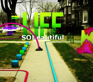 Life Is Beautiful - Obrázkek zdarma pro 1024x1024