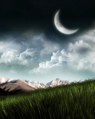 3D Moon Landscape Photography - Fondos de pantalla gratis para Huawei G7300