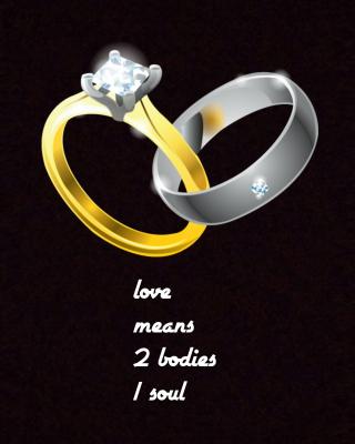 Love Rings - Obrázkek zdarma pro Nokia Lumia 820