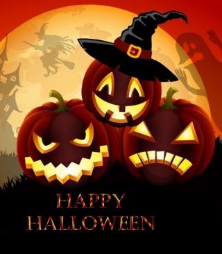 Happy Halloween - Obrázkek zdarma pro iPhone 5C