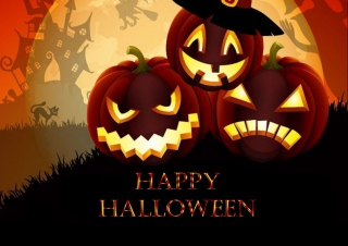 Happy Halloween Background for Android, iPhone and iPad