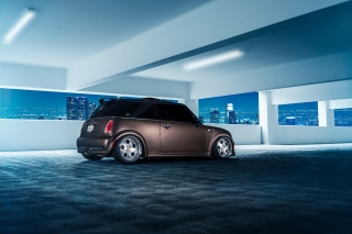 Free Mini Cooper Matte Black Picture for Android, iPhone and iPad