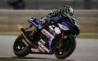 Yamaha MotoGP - Obrázkek zdarma pro 1152x864