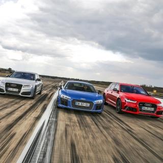 Audi RS 7, RS 6, R8 - Obrázkek zdarma pro 320x320