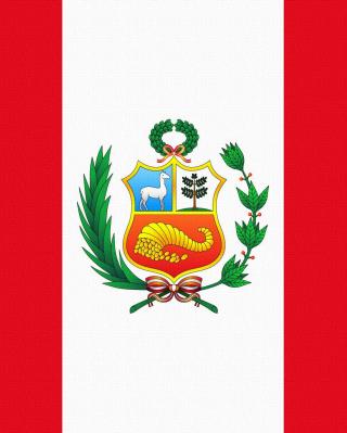 Flag Of Peru - Obrázkek zdarma pro Nokia Asha 300