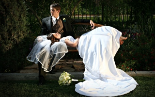 Free Just Married Picture for Android, iPhone and iPad