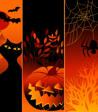 Happy Halloween - Obrázkek zdarma pro Nokia Lumia 620