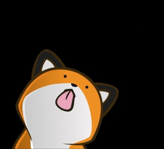 Funny Fox - Obrázkek zdarma pro iPad