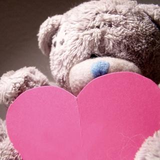 Plush Teddy Bear - Obrázkek zdarma pro 1024x1024