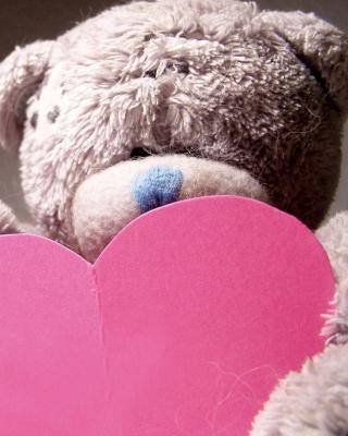 Plush Teddy Bear - Obrázkek zdarma pro 176x220
