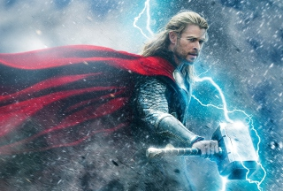 Thor - The Dark World Background for Android, iPhone and iPad