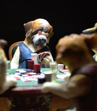 Dogs Playing Poker - Obrázkek zdarma pro Nokia Asha 300