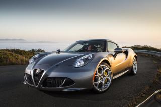 Alfa Romeo 4C - Obrázkek zdarma pro 1366x768