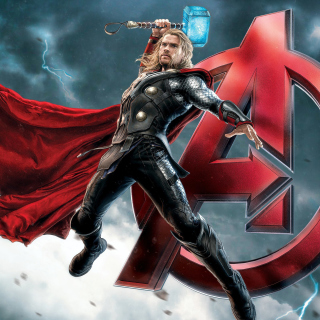 Thor Avengers - Obrázkek zdarma pro 1024x1024