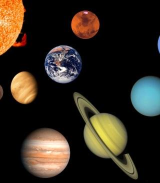 Solar System - Obrázkek zdarma pro 240x432