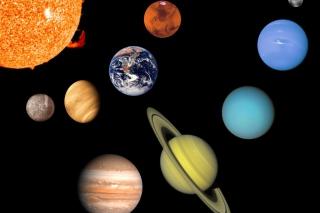 Solar System - Obrázkek zdarma pro 1024x768